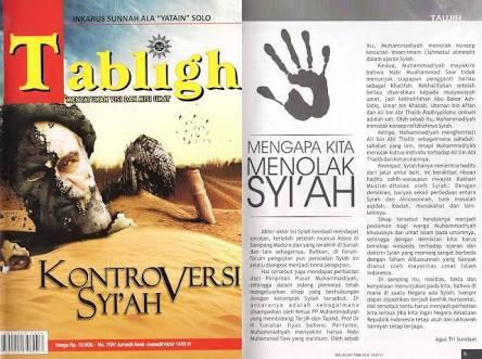 """Klarifikasi Majalah Tabligh Terkait Tulisan """"Sikap Resmi Muhammadiyah Terhadap Syiah"""""""